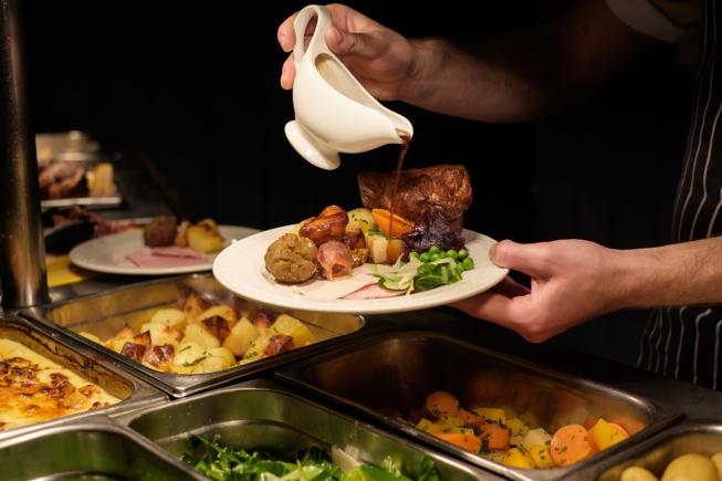 A Carvery Lunch for Two