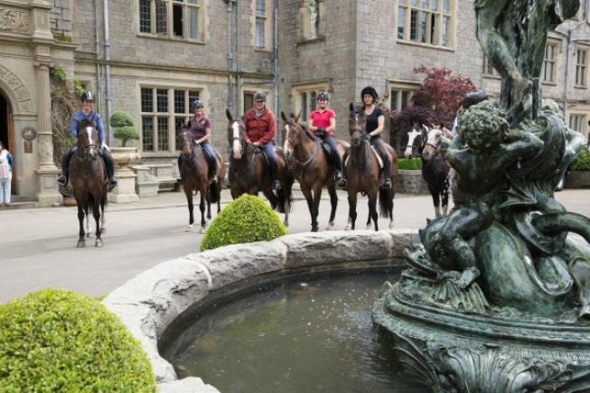 Saddles, Spa & Castle Stay